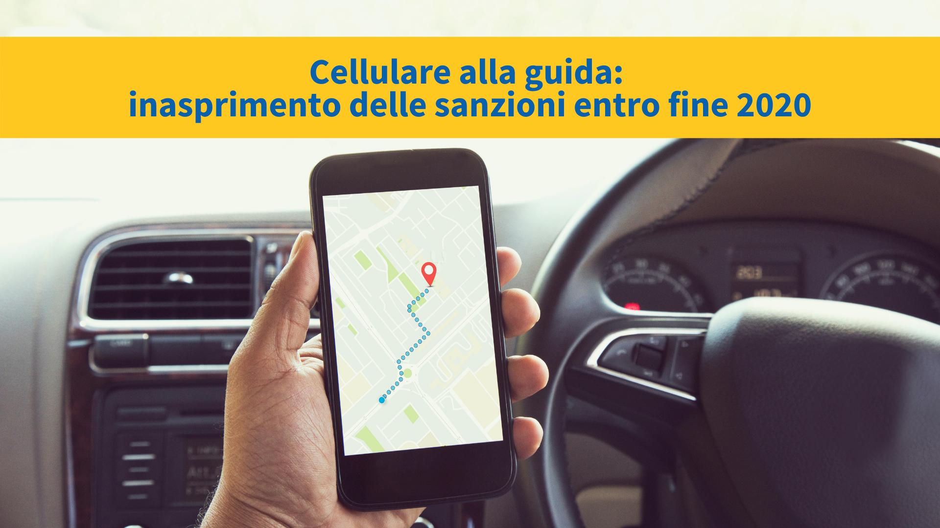 Guida con cellulare: rischi, sanzioni e le novità del Codice della Strada