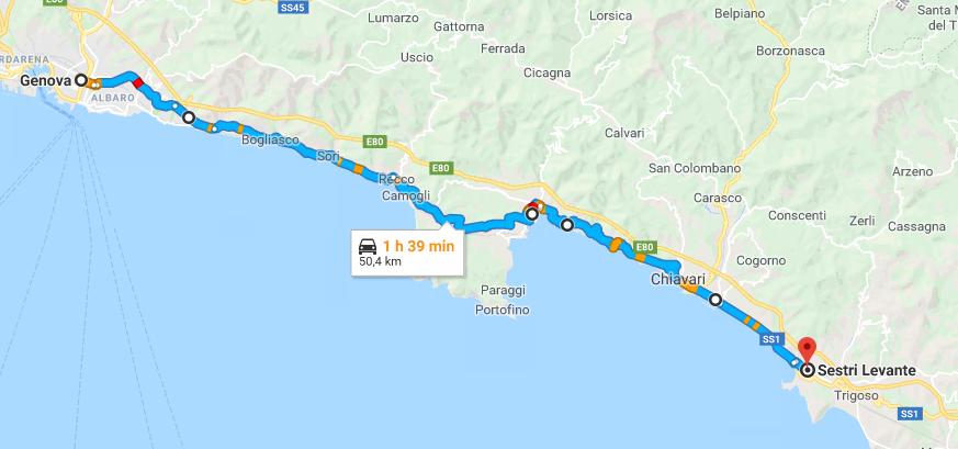 Liguria Di Levante Cartina.Le Strade Piu Belle Da Percorrere In Moto Riviera Di Levante Liguria