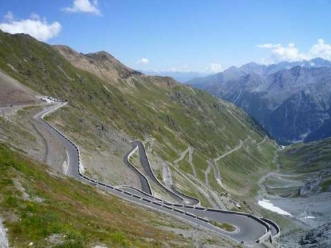 Passo dello Stelvio, Lombardia/Trentino