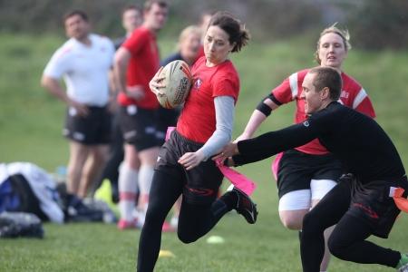 Azione di Tag Rugby